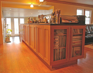 Bill Pyke custom cabinetry